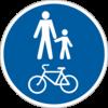 Доріжка для пішоходів і велосипедистів