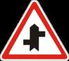 Прилягання другорядної дороги