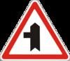 знак 1.23.2 Прилягання другорядної дороги