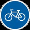 знак 4.12 Доріжка для велосипедистів