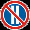 знак 3.37 Стоянку заборонено в парні числа місяця
