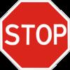 знак 2.2 Проїзд без зупинки заборонено